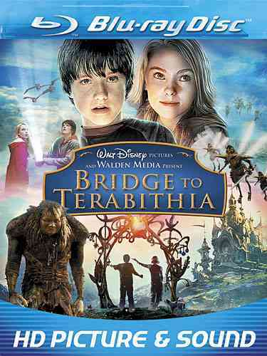 BRIDGE TO TERABITHIA BY HUTCHERSON,JOSH (Blu-Ray)